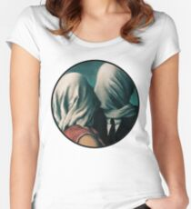 The Lovers Rene Magritte Women's Fitted Scoop T-Shirt