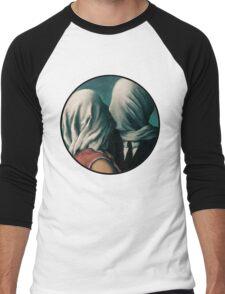 The Lovers Rene Magritte Men's Baseball ¾ T-Shirt