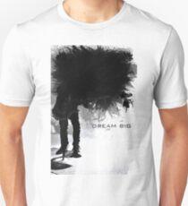 Dream Big  - Guitarist on Stage Medley Unisex T-Shirt