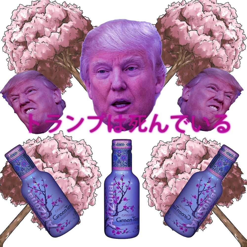 Trump Vaporwave by DEAD777Inside