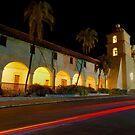 Santa Barbara Old Mission. Christmas 2011 by Eyal Nahmias