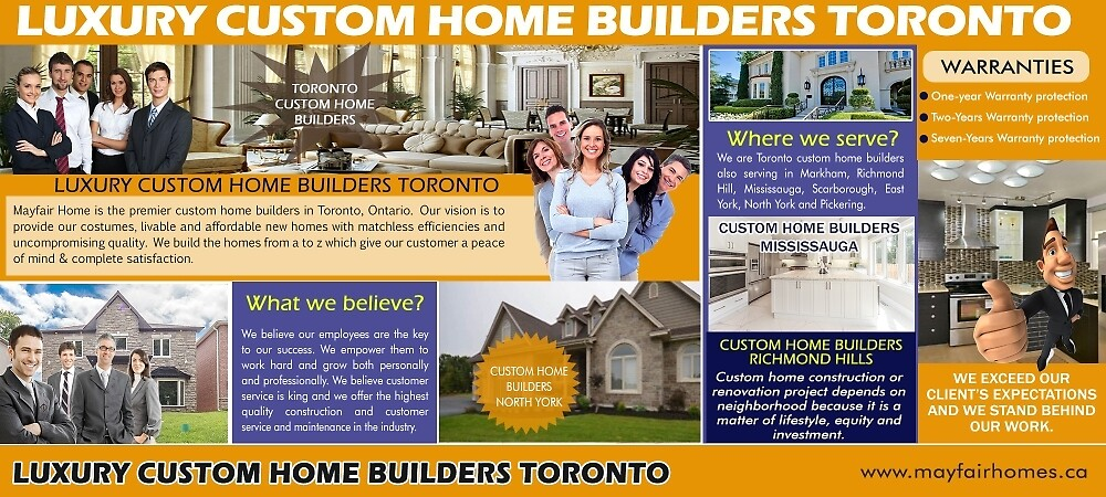 Luxury Custom Home Builders Toronto by Luxury Custom home  Builders Toronto