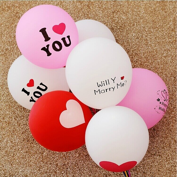 Will you Merry Me Balloon Bouquet  by LiyaGrey
