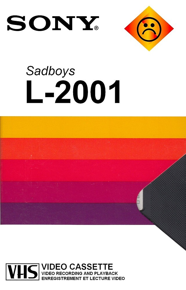 Sony VHS SADBOYS Mobile phone casings  by DEAD777Inside