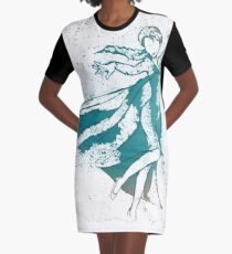 The Snow Queen Graphic T-Shirt Dress