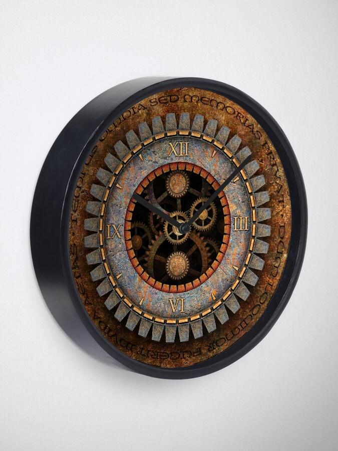 Alternate view of Vintage Steampunk Clock No.1 Clock