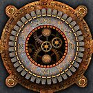 Vintage Steampunk Clock No.1 by Steve Crompton