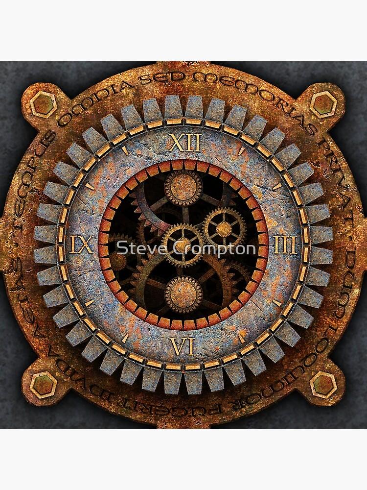 Vintage Steampunk Clock No.1 by SC001