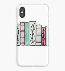 Pastel Books iPhone Case/Skin