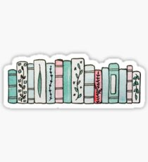 Pastel Books Sticker