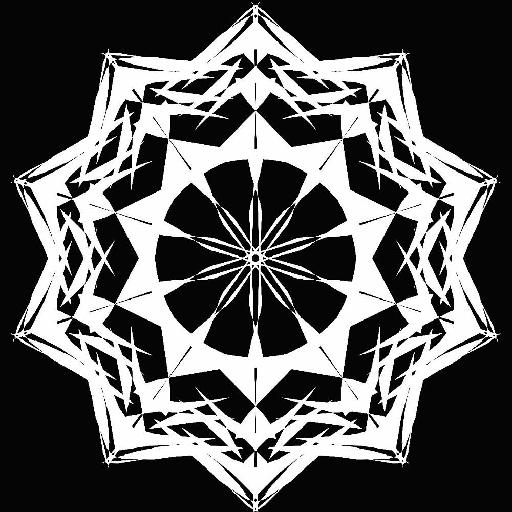 White Mandala  by karakr