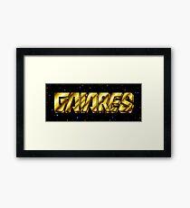 Gaiares (Genesis Title Screen) Framed Print