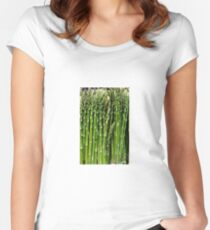 Asparagus Women's Fitted Scoop T-Shirt