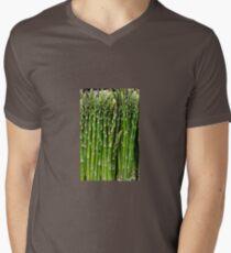 Asparagus Mens V-Neck T-Shirt