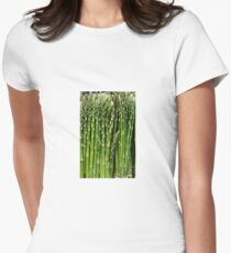 Asparagus Women's Fitted T-Shirt