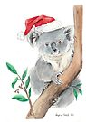 Koala Claus by Meaghan Roberts