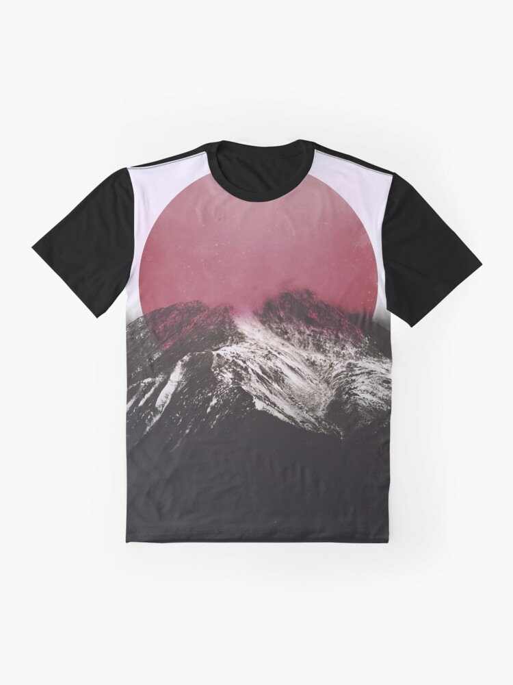 Alternate view of Red Graphic T-Shirt