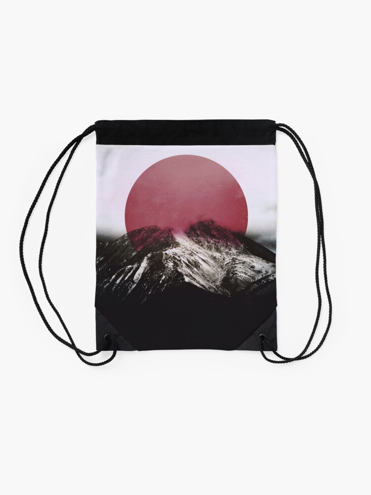 Alternate view of Red Drawstring Bag