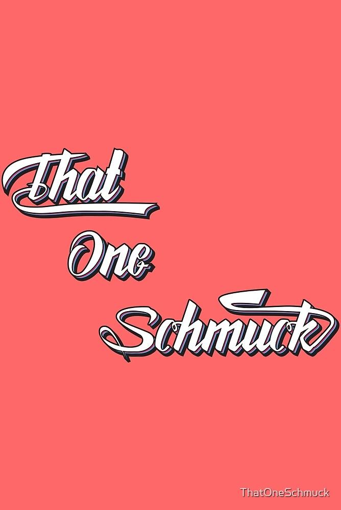 That One Schmuck Sketch logo by ThatOneSchmuck