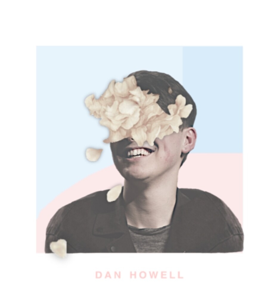 Flowery Dan Howell by Sophie Howard