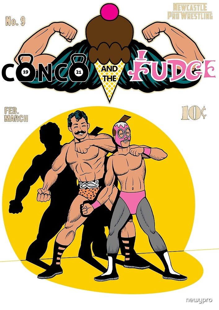 """Conco & The Fudge """"The Four Fates"""" by newypro"""