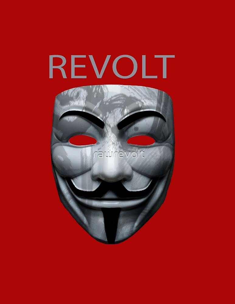 revolt v mask by rawrevolt