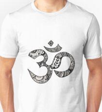 Camiseta ajustada Signo de Om
