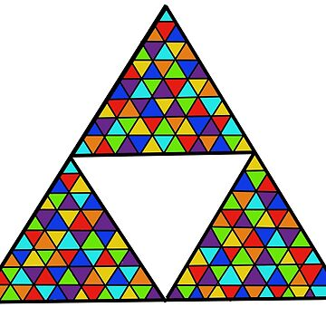 Rainbow Triforce by thefifthzero