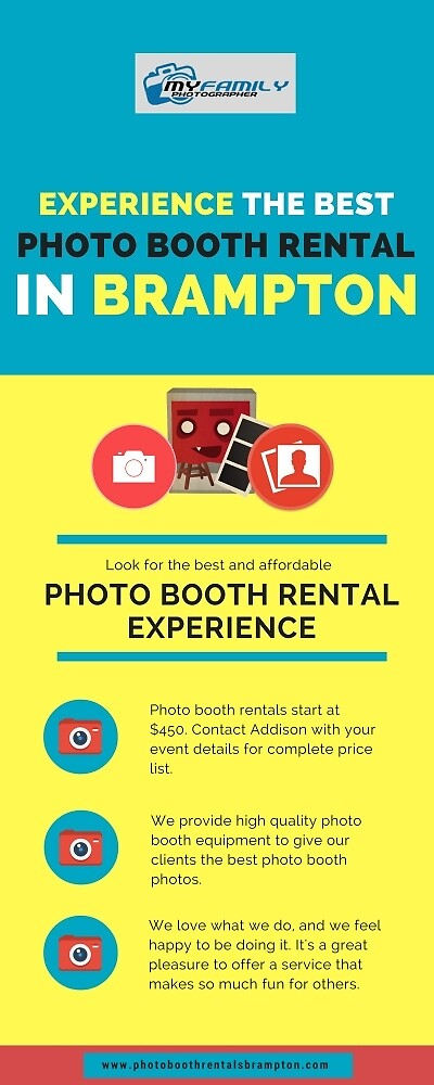 Experience the Best Photo Booth Rental in Brampton by leonardleath7