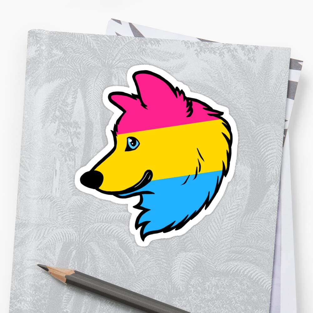 Pansexual Wolf by Dean Gibson