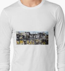 community....cliff top plateau Long Sleeve T-Shirt