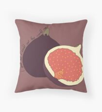 Fig Throw Pillow