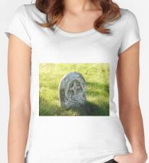 gravestone Women's Fitted Scoop T-Shirt