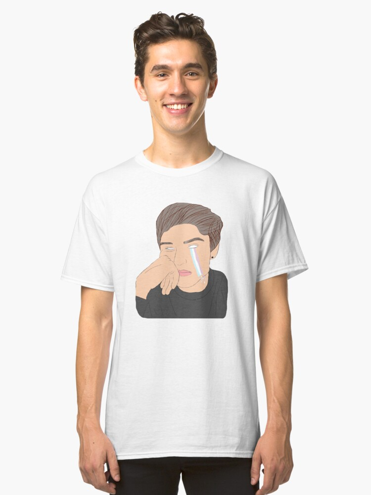 KALE FACE TEE Classic T-Shirt Front