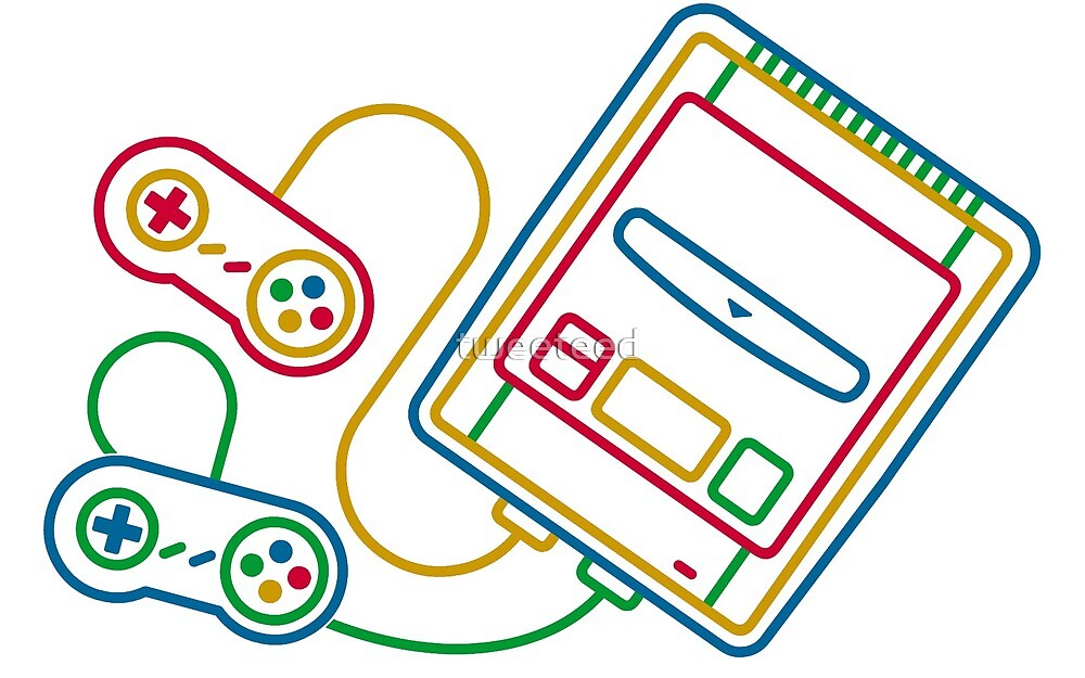 Super Famicom - SNES by tweeteed