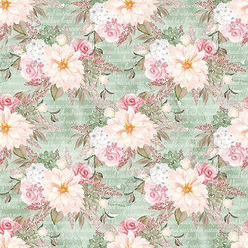 Flowers Pattern by ThomasThornley