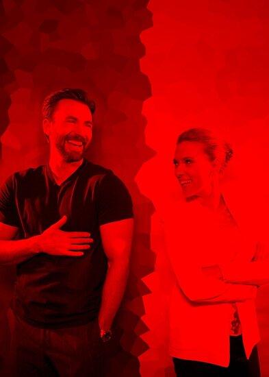 Chris Evans and Scarlett Johansson - Celebrity by Powerofwordss