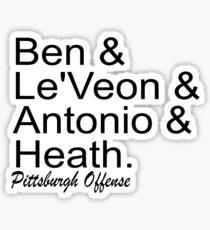 Pittsburgh Offense Sticker
