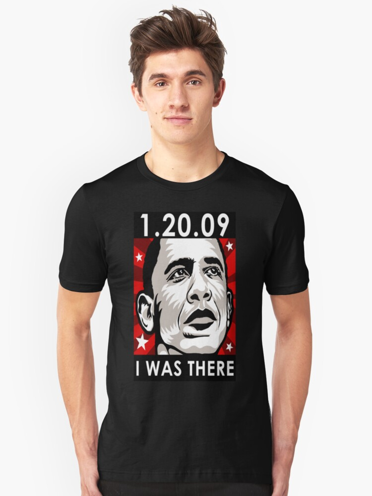 OBAMA  I WAS THERE Hoodie Unisex T-Shirt Front