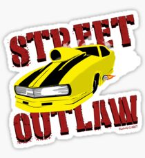 Street Outlaw Camero Promod Sticker