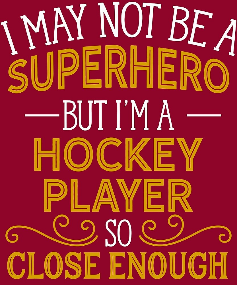 Superhero But Hockey Player by AlwaysAwesome