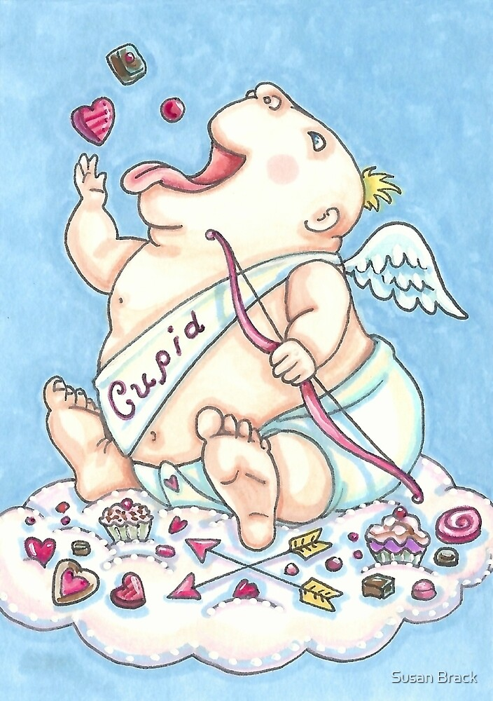 ADDICTED TO LOVE BABY CUPID by Susan Brack