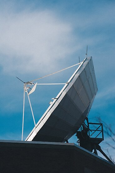 Satellite Dish by Caean Do Couto
