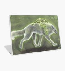 Glowing Mushroomwolf Laptop Skin