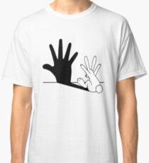 Rabbit Hand Shadow Classic T-Shirt