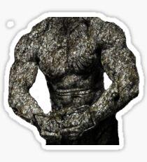 Muscle man Sticker
