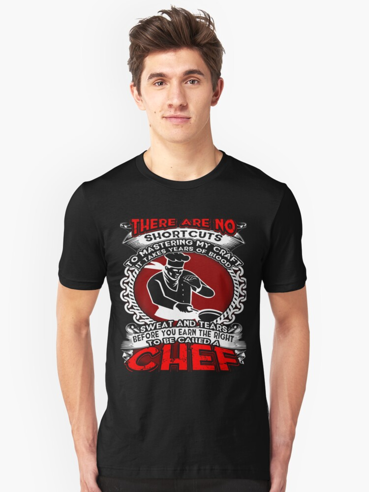 To be caller a Chef Unisex T-Shirt Front