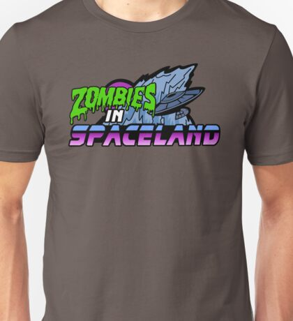 Zombies in Spaceland Unisex T-Shirt