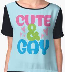 cute & gay Chiffon Top