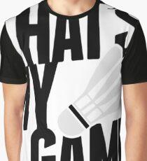 Badminton - That's My Game Badminton Shirts Men Graphic T-Shirt